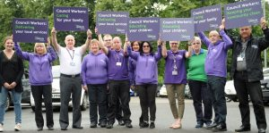 UNISON D&G Stewards vent frustration at austerity cuts